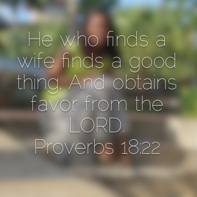 He Who Finds a Good Wife